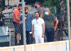 The Enforcer: Η Θεσσαλονίκη έγινε Μαϊάμι! Σπορ αμάξια & φοίνικες στην Εθνική Αμύνης, για την ταινία του Αντόνιο Μπαντέρας (φωτό & βίντεο) - Κυρίως Φωτογραφία - Gallery - Video