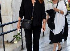 Συγκίνηση στο μνημόσυνο του Τόλη Βοσκόπουλου: Συντετριμμένες η Άντζελα Γκερέκου και η κόρη τους Μαρία (φωτό) - Κυρίως Φωτογραφία - Gallery - Video