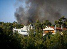 Μαίνεται η πυρκαγιά στην περιοχή της Βαρυμπόμπης - Κάηκαν σπίτια, εκκενώθηκαν Θρακομακεδόνες & Ολυμπιακό Χωριό - Οι φλόγες στρέφονται προς το Τατόι  - Κυρίως Φωτογραφία - Gallery - Video 8