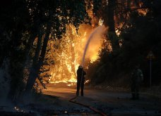 Μαίνεται η πυρκαγιά στην περιοχή της Βαρυμπόμπης - Κάηκαν σπίτια, εκκενώθηκαν Θρακομακεδόνες & Ολυμπιακό Χωριό - Οι φλόγες στρέφονται προς το Τατόι  - Κυρίως Φωτογραφία - Gallery - Video 10
