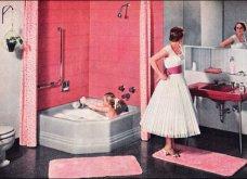 Design Vintage Pics: 20 χρωματιστά - πολυτελή - εντυπωσιακά μπάνια του 50 - Να πάρουμε ιδέες;  - Κυρίως Φωτογραφία - Gallery - Video
