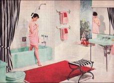 Design Vintage Pics: 20 χρωματιστά - πολυτελή - εντυπωσιακά μπάνια του 50 - Να πάρουμε ιδέες;  - Κυρίως Φωτογραφία - Gallery - Video 2