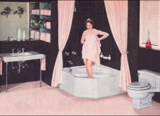 Design Vintage Pics: 20 χρωματιστά - πολυτελή - εντυπωσιακά μπάνια του 50 - Να πάρουμε ιδέες;  - Κυρίως Φωτογραφία - Gallery - Video 3