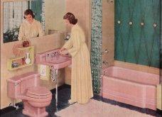 Design Vintage Pics: 20 χρωματιστά - πολυτελή - εντυπωσιακά μπάνια του 50 - Να πάρουμε ιδέες;  - Κυρίως Φωτογραφία - Gallery - Video 4