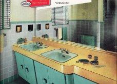 Design Vintage Pics: 20 χρωματιστά - πολυτελή - εντυπωσιακά μπάνια του 50 - Να πάρουμε ιδέες;  - Κυρίως Φωτογραφία - Gallery - Video 5
