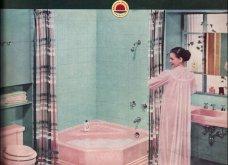 Design Vintage Pics: 20 χρωματιστά - πολυτελή - εντυπωσιακά μπάνια του 50 - Να πάρουμε ιδέες;  - Κυρίως Φωτογραφία - Gallery - Video 6