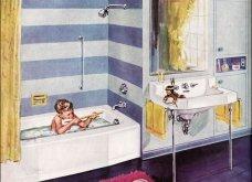 Design Vintage Pics: 20 χρωματιστά - πολυτελή - εντυπωσιακά μπάνια του 50 - Να πάρουμε ιδέες;  - Κυρίως Φωτογραφία - Gallery - Video 8