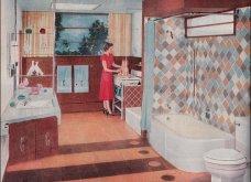 Design Vintage Pics: 20 χρωματιστά - πολυτελή - εντυπωσιακά μπάνια του 50 - Να πάρουμε ιδέες;  - Κυρίως Φωτογραφία - Gallery - Video 9