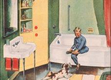 Design Vintage Pics: 20 χρωματιστά - πολυτελή - εντυπωσιακά μπάνια του 50 - Να πάρουμε ιδέες;  - Κυρίως Φωτογραφία - Gallery - Video 11