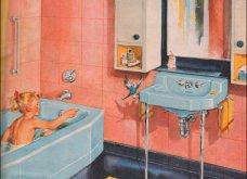 Design Vintage Pics: 20 χρωματιστά - πολυτελή - εντυπωσιακά μπάνια του 50 - Να πάρουμε ιδέες;  - Κυρίως Φωτογραφία - Gallery - Video 12