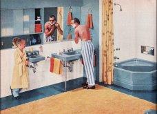 Design Vintage Pics: 20 χρωματιστά - πολυτελή - εντυπωσιακά μπάνια του 50 - Να πάρουμε ιδέες;  - Κυρίως Φωτογραφία - Gallery - Video 15