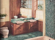 Design Vintage Pics: 20 χρωματιστά - πολυτελή - εντυπωσιακά μπάνια του 50 - Να πάρουμε ιδέες;  - Κυρίως Φωτογραφία - Gallery - Video 18