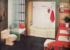 Design Vintage Pics: 20 χρωματιστά - πολυτελή - εντυπωσιακά μπάνια του 50 - Να πάρουμε ιδέες;  - Κυρίως Φωτογραφία - Gallery - Video 19