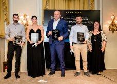 Χρυσοί σκούφοι 2021: Όλα όσα έγιναν στη λαμπερή τελετή απονομής - Μεγάλος νικητής ο Έκτορας Μποτρίνι (φώτο) - Κυρίως Φωτογραφία - Gallery - Video 52