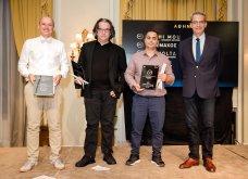 Χρυσοί σκούφοι 2021: Όλα όσα έγιναν στη λαμπερή τελετή απονομής - Μεγάλος νικητής ο Έκτορας Μποτρίνι (φώτο) - Κυρίως Φωτογραφία - Gallery - Video 55
