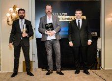 Χρυσοί σκούφοι 2021: Όλα όσα έγιναν στη λαμπερή τελετή απονομής - Μεγάλος νικητής ο Έκτορας Μποτρίνι (φώτο) - Κυρίως Φωτογραφία - Gallery - Video 57