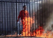 Νέα ανείπωτη κτηνωδία από τους Τζιχαντιστές - Έκαψαν ζωντανό Ιορδανό όμηρο (σκληρές φωτό) - Κυρίως Φωτογραφία - Gallery - Video