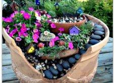 Φαντασία & μεράκι για μικρούς φανταστικούς κήπους μέσα σε σπασμένες γλαστρούλες - Κυρίως Φωτογραφία - Gallery - Video 12