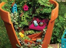 Φαντασία & μεράκι για μικρούς φανταστικούς κήπους μέσα σε σπασμένες γλαστρούλες - Κυρίως Φωτογραφία - Gallery - Video 3