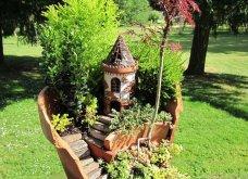 Φαντασία & μεράκι για μικρούς φανταστικούς κήπους μέσα σε σπασμένες γλαστρούλες - Κυρίως Φωτογραφία - Gallery - Video 8