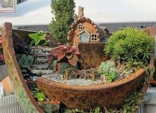 Φαντασία & μεράκι για μικρούς φανταστικούς κήπους μέσα σε σπασμένες γλαστρούλες - Κυρίως Φωτογραφία - Gallery - Video 10