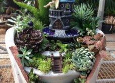 Φαντασία & μεράκι για μικρούς φανταστικούς κήπους μέσα σε σπασμένες γλαστρούλες - Κυρίως Φωτογραφία - Gallery - Video 2