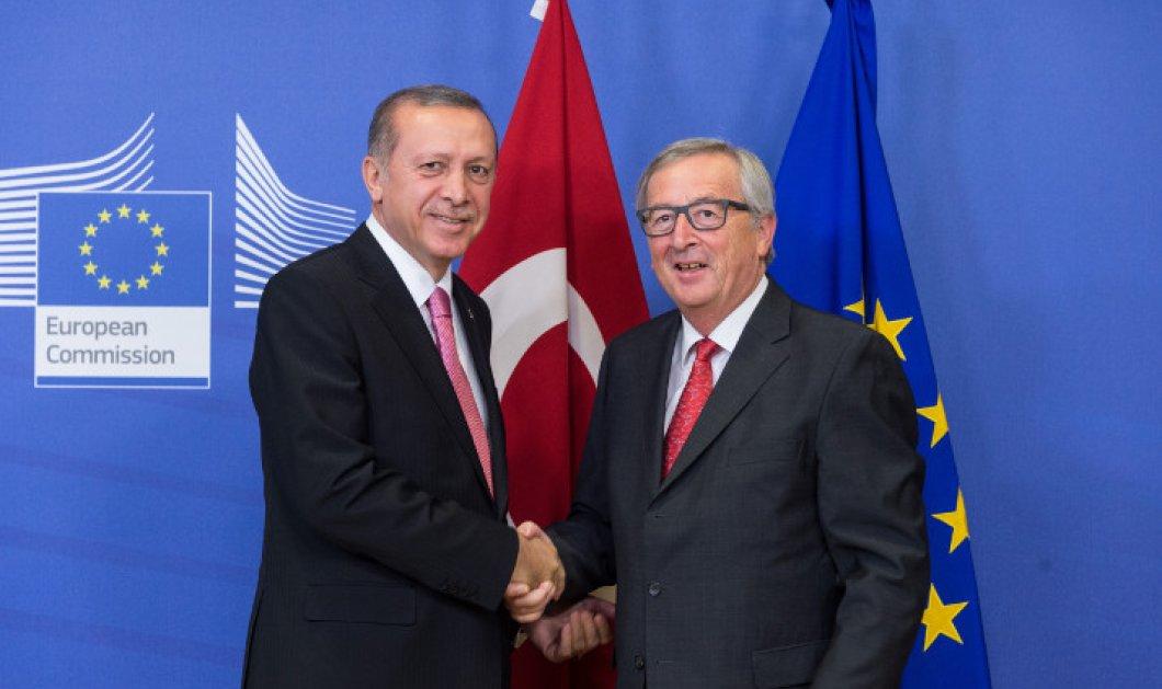 """Ζαν Κλωντ Γιούνκερ: """"Η συμφωνία με την Τουρκία για το μεταναστευτικό κινδυνεύει να ακυρωθεί"""" - Κυρίως Φωτογραφία - Gallery - Video"""