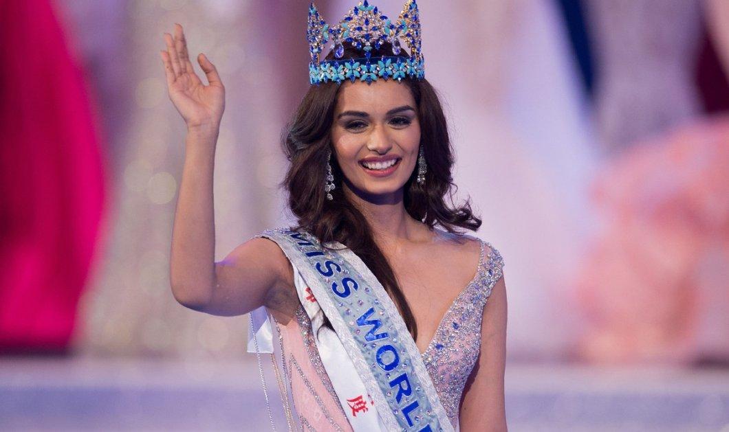 """Miss World 2017"":  Μις Κόσμος η Ινδή Manushi Chhillar -Η απίστευτη ατυχία της ωραίας Αιγιώτισσας Μαρίας Ψηλού που εκπροσώπησε την Ελλάδα (ΦΩΤΟ-ΒΙΝΤΕΟ) - Κυρίως Φωτογραφία - Gallery - Video"
