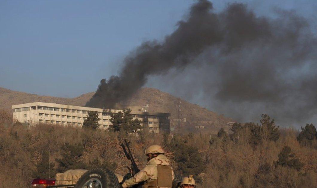 Καμπούλ: Έξι νεκρούς και τουλάχιστον έξι τραυματίες άφησε πίσω της η δωδεκάωρη επίθεση στο Intercontinetal (ΦΩΤΟ) - Κυρίως Φωτογραφία - Gallery - Video
