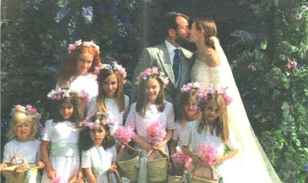 Ο ρομαντικός γάμος του εφοπλιστή Αντώνη Χανδρή - Γουλανδρή με την σχεδιάστρια Theodora Warre (φώτο) - Κυρίως Φωτογραφία - Gallery - Video