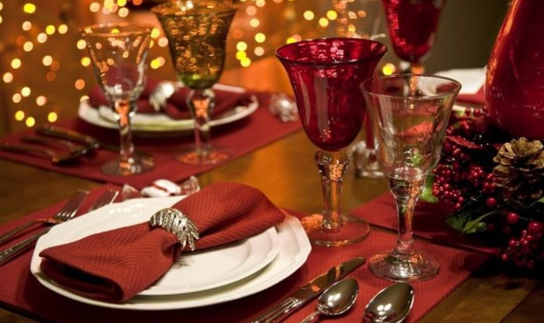 16 θαυμάσιες ιδέες για να διακοσμήσετε έξυπνα & απλά το γιορτινό σας τραπέζι (φωτό) - Κυρίως Φωτογραφία - Gallery - Video
