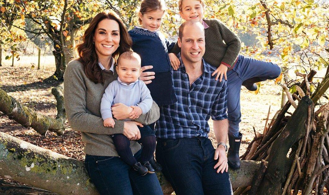 Η επίσημη κάρτα Χριστουγέννων με νέες φωτό του πρίγκιπα Χάρι της Κέιτ και των παιδιών της - Ο Λούι ξεχώρισε   - Κυρίως Φωτογραφία - Gallery - Video
