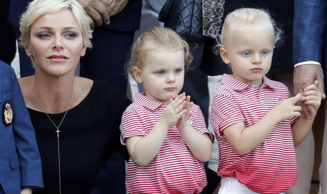 Η πριγκίπισσα Σαρλίν του Μονακό μοιράστηκε φωτό με τα δίδυμα της που μοιάζουν με παιδικά μανεκέν - Κυρίως Φωτογραφία - Gallery - Video