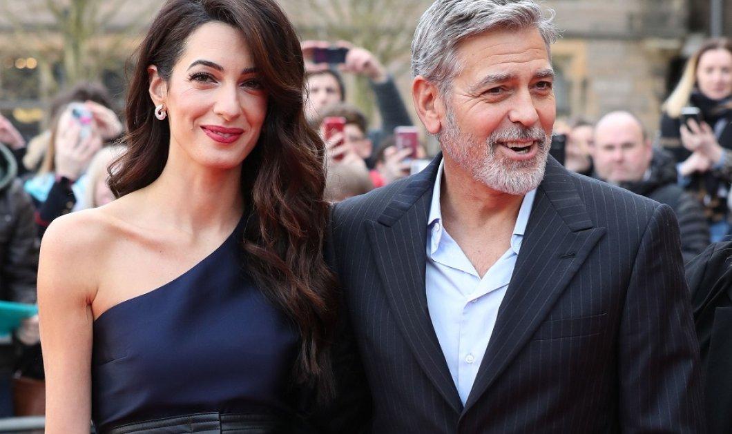 Όταν ο George Clooney κρατάει αγκαζέ την εκθαμβωτική  Amal & πάει σε ρομαντικό δείπνο στη Λίμνη του Κόμο (φώτο) - Κυρίως Φωτογραφία - Gallery - Video