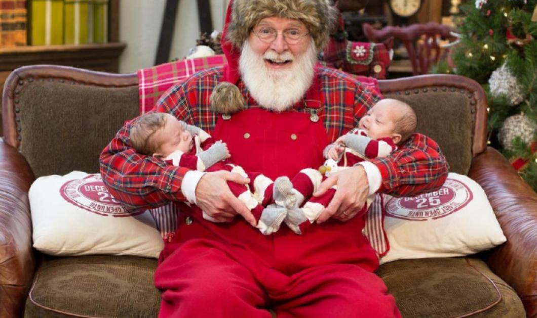 Ακαταμάχητοι mini Αη Βασίληδες: Γεμίστε θετική ενέργεια με μωρά -μουτράκια που τα έντυσαν με την στολή του αγαπημένου παππού (φωτό) - Κυρίως Φωτογραφία - Gallery - Video