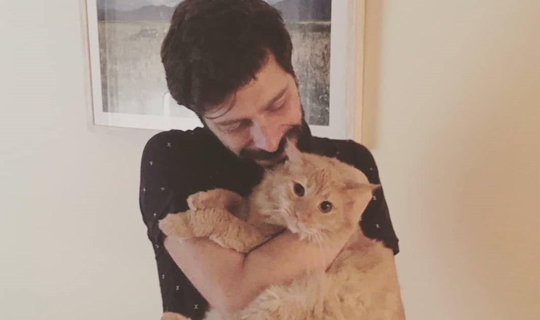 Ο φιλόζωος νέος Υφυπουργός Πολιτισμού Νικόλας Γιατρομανωλάκης: Γνωρίστε τον Βρασίδα τον σκύλο του & τον Patrick τον γάτο του (φωτό) - Κυρίως Φωτογραφία - Gallery - Video