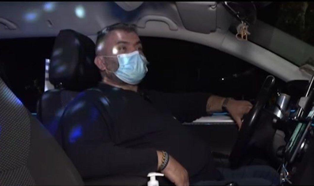 Απλά θεούλης! Ο Κώστας Μπέκιος έχει κάνει το ταξί του club - Με φωτορυθμικά & dj set - Έγραψε για αυτόν το Reuters (βίντεο) - Κυρίως Φωτογραφία - Gallery - Video