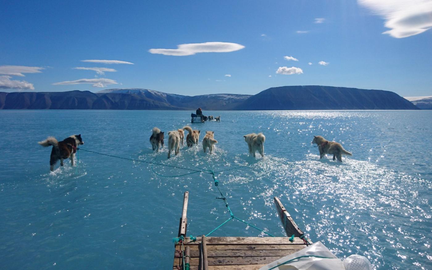 Φωτό ημέρας η viral εικόνα από την Γροιλανδία όπου φαίνεται ξεκάθαρα το λιώσιμο των πάγων & ακόμη Ιούνιος ... - Κυρίως Φωτογραφία - Gallery - Video