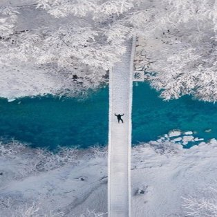Φωτογραφία της Ημέρας: Ο εκπληκτικός Κώστας Σπαθής αιχμαλωτίζει τη μαγεία του χιονιού σε ένα συναρπαστικό κλικ - Πηγή: Spathumpa Instagram  - Κυρίως Φωτογραφία - Gallery - Video
