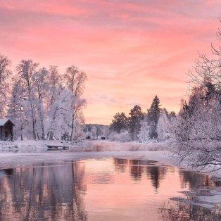 Φωτό ημέρας: Ένα ειδυλλιακό σκηνικό στη Σουηδία- Μαγευτικό κλικ/ Photo: @mariaanderhell/ instagram - Κυρίως Φωτογραφία - Gallery - Video