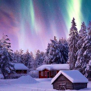 Φωτό ημέρας: Στη Φινλανδία ο χειμώνας θυμίζει παραμύθι/ Photo: @sennarelax/ instagram - Κυρίως Φωτογραφία - Gallery - Video