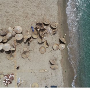 To πέρασμα του ''τυφώνα'' στις παραλίες της καλλονής Χαλκιδικής -  Εurokinissi - Κυρίως Φωτογραφία - Gallery - Video