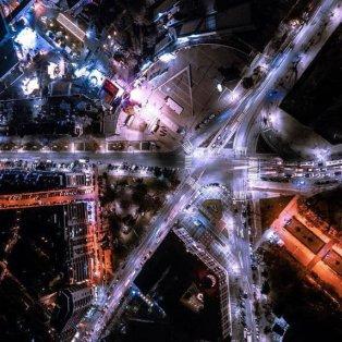 Πανέμορφη η νυχτερινή Θεσσαλονίκη από ψηλά - Φώτο: @greece_drone [Δείτε περισσότερα στο madeingreece.news]  - Κυρίως Φωτογραφία - Gallery - Video