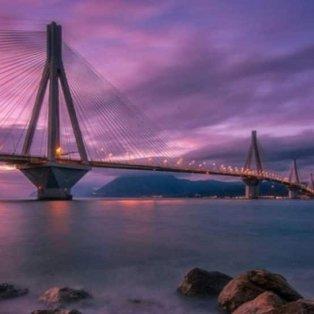 Η γέφυρα Ρίου- Αντιρίου στα πιο ειδυλλιακά της χρώματα – Φώτο: @gkossieris [Δείτε περισσότερα στο madeingreece.news]  - Κυρίως Φωτογραφία - Gallery - Video
