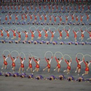 H τελειότητα και η πειθαρχία με την αρμονία & τις κινήσεις των νεαρών αθλητριών της ενόργανης - Kim Won Jin/AFP/Getty - Κυρίως Φωτογραφία - Gallery - Video