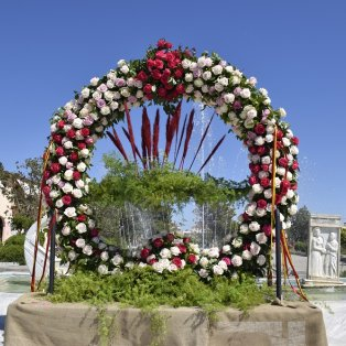 Φωτό ημέρας: Το μεγαλύτερο πρωτομαγιάτικο στεφάνι της Ελλάδας/ Photo: Eurokinissi-ΠΑΠΑΔΟΠΟΥΛΟΣ ΒΑΣΙΛΗΣ - Κυρίως Φωτογραφία - Gallery - Video