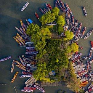 Συναρπαστικό κλικ από ψηλά σε φεστιβάλ σκαφών στην Κίνα – Credits: Getty Images - Κυρίως Φωτογραφία - Gallery - Video