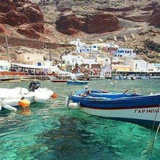 Αμμούδι Σαντορίνης: Εξωπραγματική ομορφιά με γαλαζοπράσινα νερά & αρχοντόσπιτα (Φωτό: Visit Greece / Φωτογράφος: @mannybigsmoke) - Κυρίως Φωτογραφία - Gallery - Video