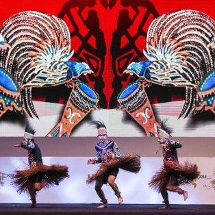 Χρώματα, φτερά & πούπoυλα στην τελετή έναρξης του Indonesia Africa Forum στο Μπαλί - Φωτογραφία: EPA / MADE NAGI - Κυρίως Φωτογραφία - Gallery - Video