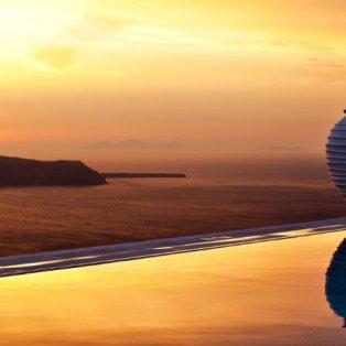 Το πιο όμορφο ηλιοβασίλεμα της Ελλάδας στο νησί της Σαντορίνης - Φωτογραφία ημέρας από τον Χρήστο Δράζο - Κυρίως Φωτογραφία - Gallery - Video